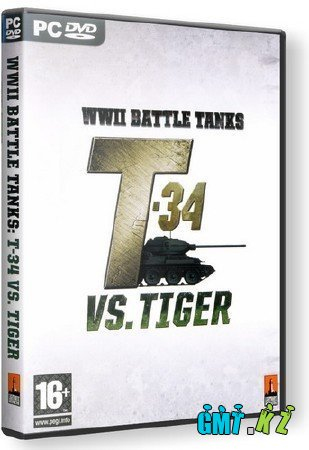 WWII Battle Tanks: T-34 vs Tiger (2007/RUS)