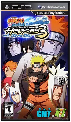 Naruto Shippuden: Ultimate Ninja Heroes 3 [2010/ENG/PATCHED]