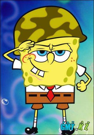 Губка Боб Квадратные Штаны. Труженик месяца / SpongeBob SquarePants. Employee of the Month (2002/RUS)