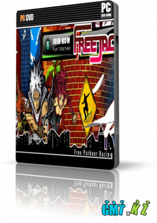 FreeJack [2010, 3rd-Person /3D Arcade Parkour Racing/ Online-only /MMOG]