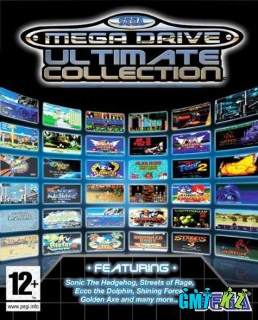 1071 игр от приставки Sega+эмулятор Gens(2008/RUS)