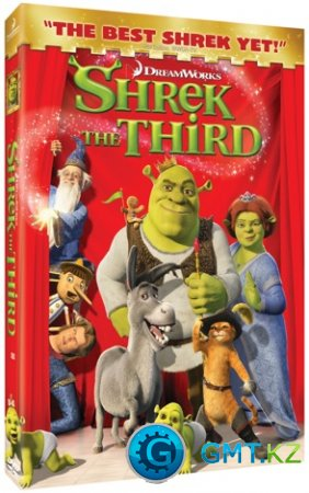 Shrek the Third (2007/RUS-ENG/Лицензия)