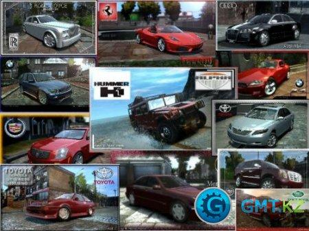 "GTA 4: Cars pack "" Новый трафик "" (byAntony / 2010 / RUS + ENG)"