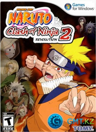 Naruto Clash Of Ninja Revolution 2 (2008/ENG/Лицензия)