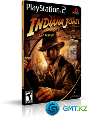 [PS2] Indiana Jones and the Staff of Kings (2009/RUS/Пиратка)