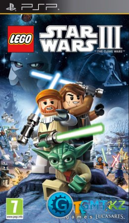 [PSP] Lego Star Wars III: The Clone Wars(ENG/FULL/PATCHED/ISO)