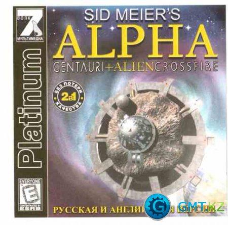 Sid Meier's Alpha Centauri + Alien Crossfire / Альфа Центавра + Перестрелка (7Wolf / ENG + RUS / L)