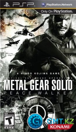 [PSP] Metal Gear Solid: Peace Walker [ENG/Action/2010/FULL/CSO]