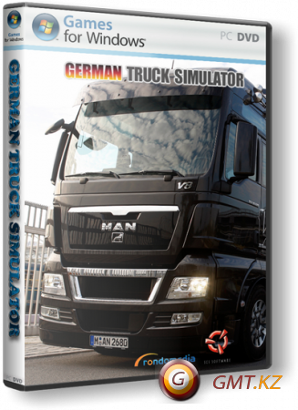 German Truck Simulator + MOD's (2010/ENG/RUS/RePack by 6JIacK_w0lf)