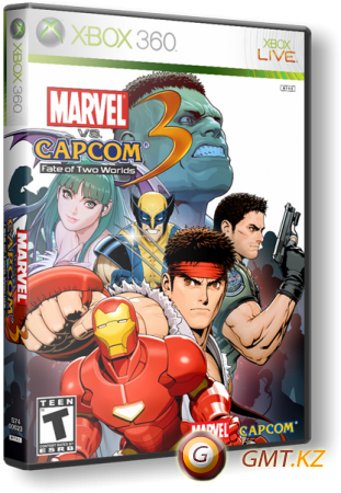 Marvel Vs. Capcom 3: Fate of Two Worlds (2011/RUS/Region Free)