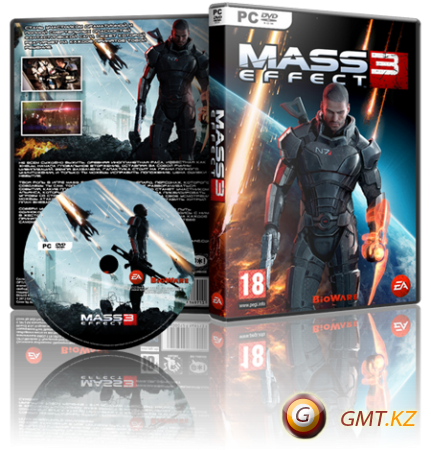 Mass Effect 3 v.1.5.5427.124 + ALL DLC (2012/RUS/ENG/RePack от z10yded)