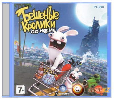 Бешеные Кролики. Go Home/Rabbids Go Home (2010/RUS/RePack от UltraISO)