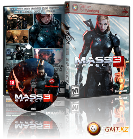 Mass Effect 3: Digital Deluxe Edition v.1.05 + 10 DLC (2012/RUS/ENG/ENG/RePack от R.G. Catalyst)