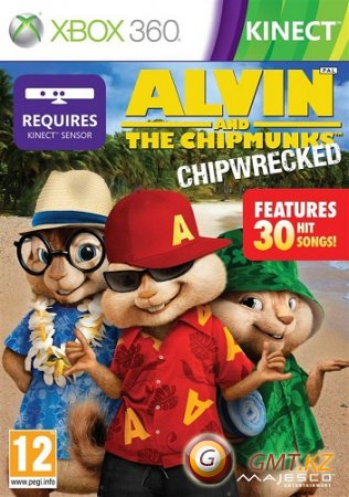 Alvin and the Chipmunks: Chipwrecked (2012/Kinect/PAL/ENG/L)