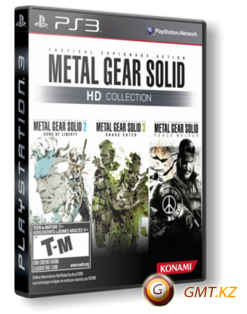 Metal Gear Solid - HD Collection (2011/ENG/TrueBlue)