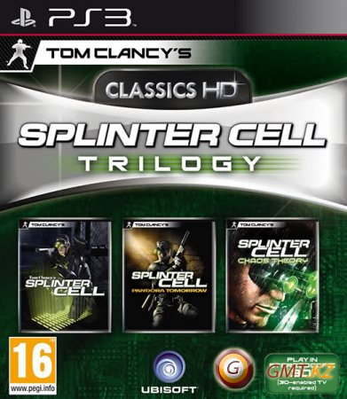 Tom Clancy's Splinter Cell Trilogy Classic HD (2011/ENG/FULL/3.55 kmeaw)