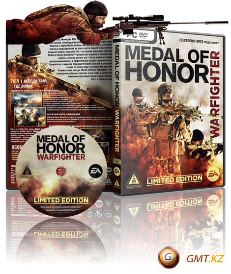 Medal Of Honor Warfighter Digital Deluxe v.1.0.0.3 + 3 DLC (2012/RUS/RePack от Fenixx)