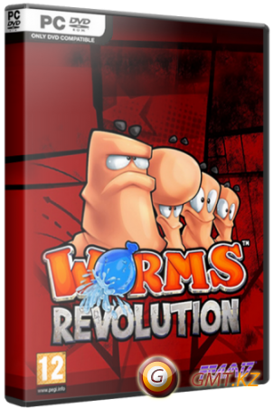 Worms Revolution (2012/RUS/ENG/Multi8/RePack от R.G. Catalyst)