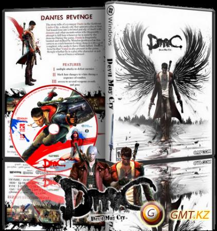 DmC Devil May Cry v.1.0u2 + 4 DLC (2013/RUS/ENG/RePack от Fenixx)