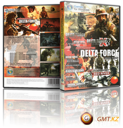 Антология Delta Force (1998-2009/RUS/ENG/Пиратка)