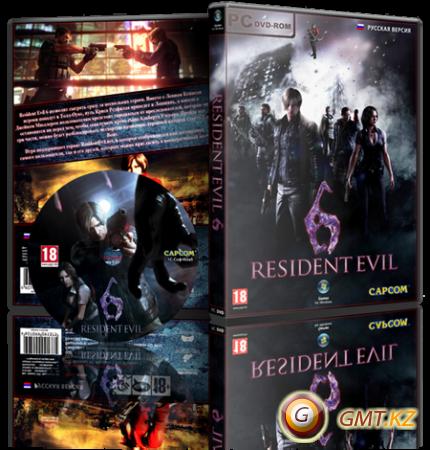 Resident Evil 6 v.1.0.6 + DLC (2013/RUS/ENG/RePack от R.G. Catalyst)
