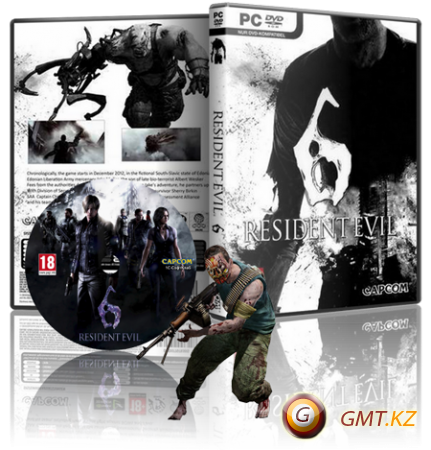 Resident Evil 6 v.1.0.6 + DLC (2013/RUS/ENG/RePack от R.G. Механики)