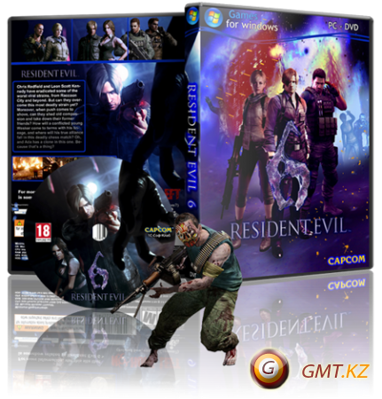 Resident Evil 6 v.1.0.3.140 + 3 DLC (2013/RUS/ENG/RePack от Fenixx)