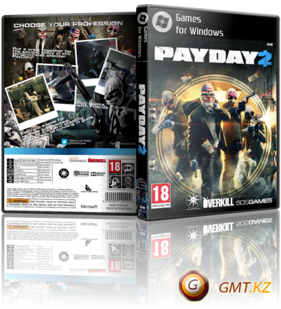 PayDay 2: Game of the Year Edition v.1.96.909 (2013/RUS/ENG/Steam-Rip)