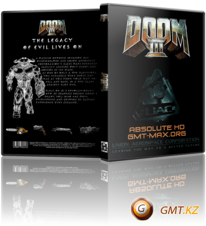 Doom 3: Absolute HD v.1.3.1 (2013/RUS/RePack от MAXAGENT)