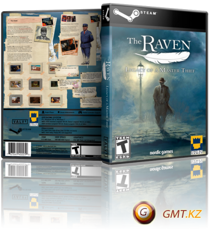 The Raven: Legacy of a Master Thief Deluxe Edition (2013/RUS/ENG/RePack от R.G. Механики)