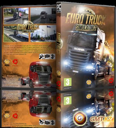 Euro Truck Simulator 2 v.1.30.1.19s + 56 DLC (2017/RUS/ENG/RePack от xatab)