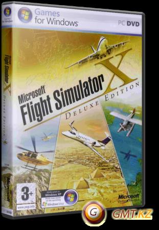 Microsoft Flight Simulator X Deluxe Edition (2007/RUS/ENG/Лицензия)