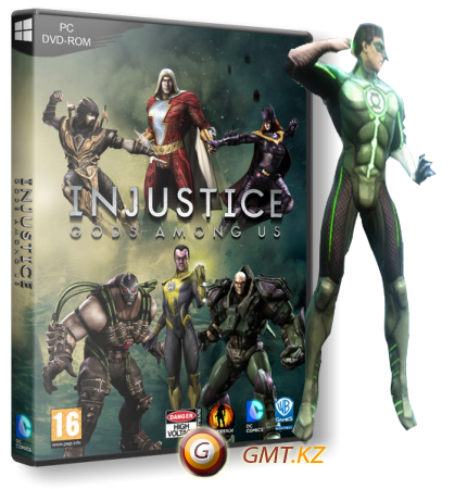 Injustice: Gods Among Us Ultimate Edition [Update 5] (2013/RUS/ENG/RePack от xatab)
