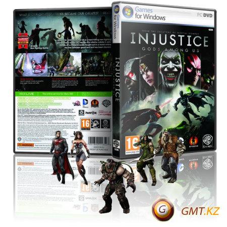 Injustice: Gods Among Us Ultimate Edition (2013/RUS/ENG/RePack от R.G. Catalyst)