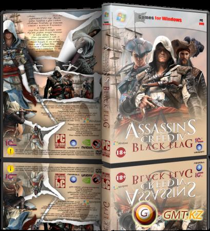 Assassin's Creed IV Black Flag Deluxe Edition v.1.06 + DLC (2013/RUS/ENG/RiP от R.G. Механики)