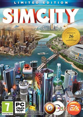 SimCity (2014/RUS/ENG/Crack by 3DM)