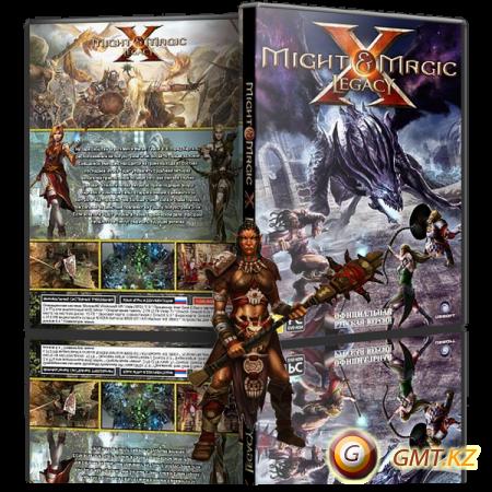 Might & Magic X Legacy Deluxe Edition v.1.5 + 1 DLC (2014/RUS/ENG/MULTI14/RePack от Fenixx)